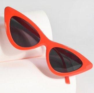 50s Retro Red Cat Eye Sunglasses