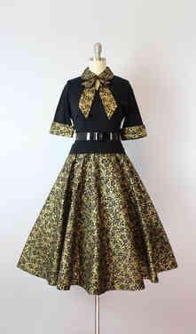 1950s Sweater Skirt Set