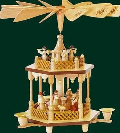 Christmas German Pyramid