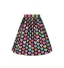 Hearts Circle Skirt