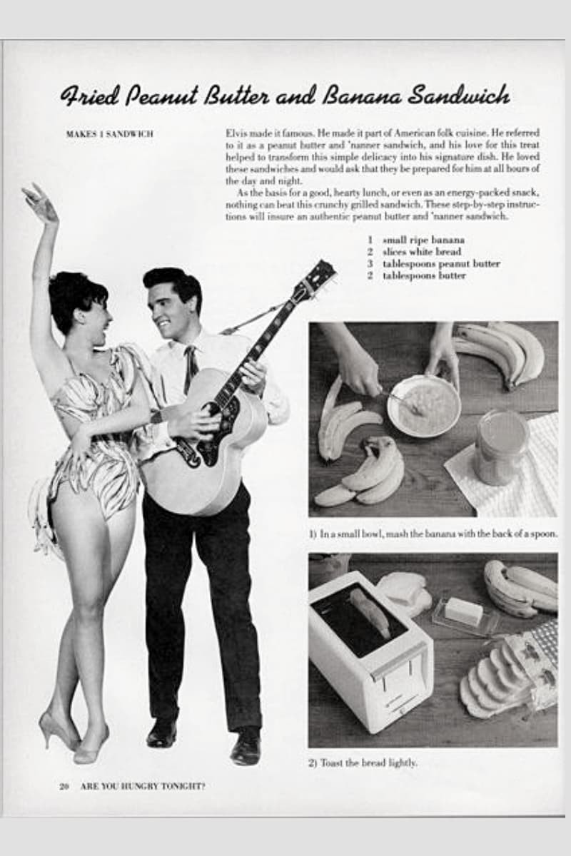 Retro Recipe from Elvis Presley