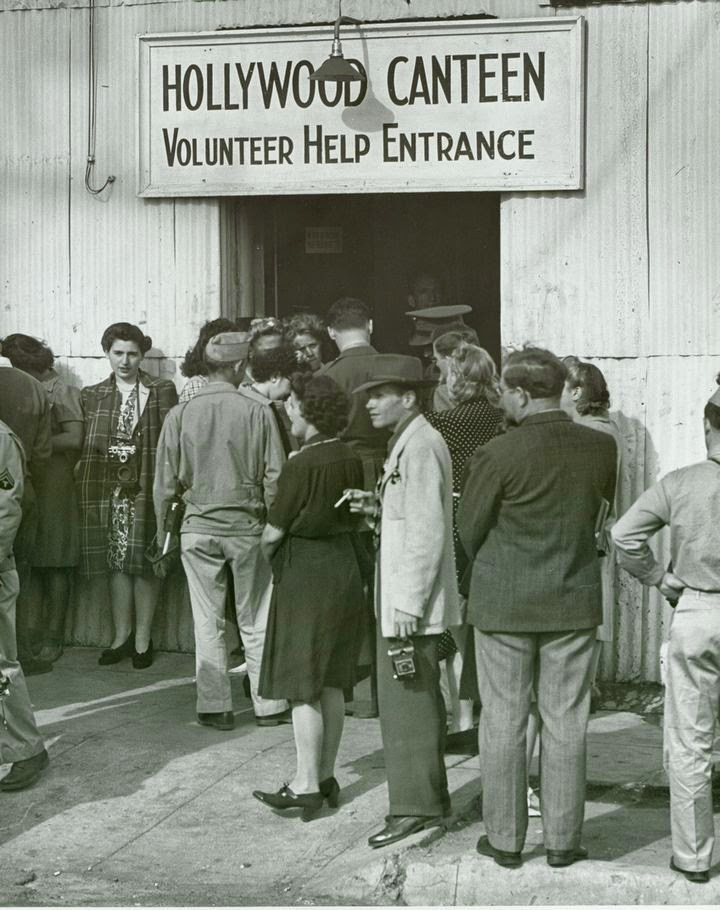 Volunteers Entrance Hollywood Canteen