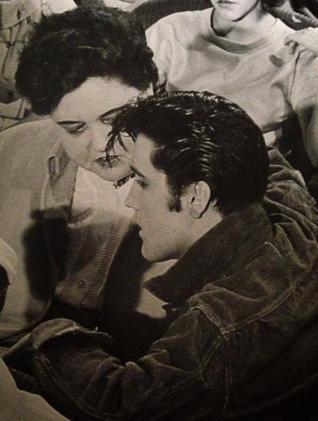 Elvis and his Mother- Retro Mother's Day