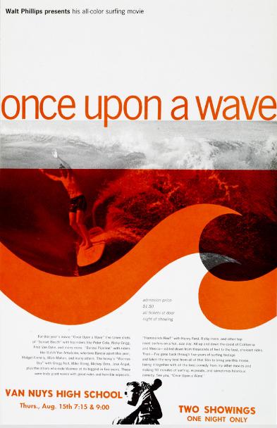 retro print nostalgia 60s surfing