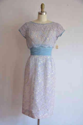 Genuine 1950s Lace Dress