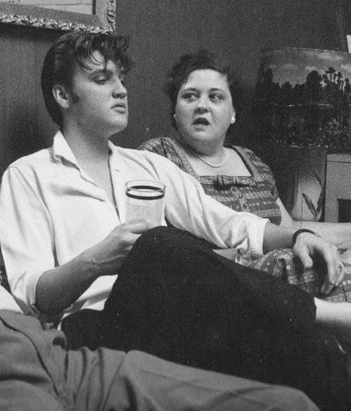 Elvis and His Mum Gladys