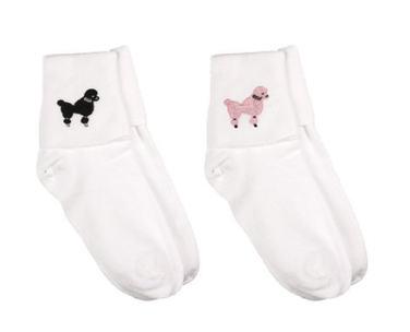 50s Poodle Bobby Socks