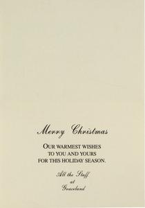Seasons Greetings from Graceland