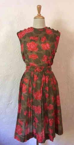 True Vintage 50s Dress