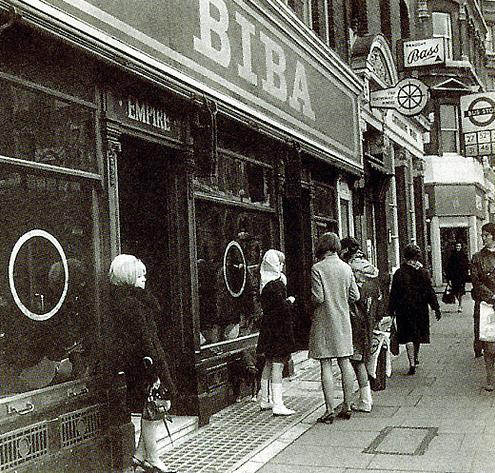 A 1960s Mod Clothing Store Biba