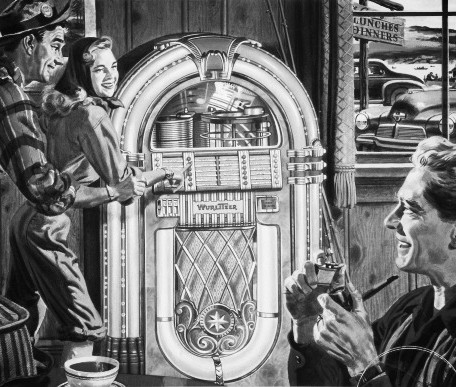 History of Wurlitzer Jukeboxes