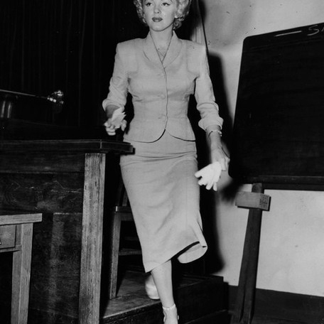 Marilyn Monroe Takes The Stand In A Nude Photo Mail Order Trial | Retro Time Machine Series Vol 5