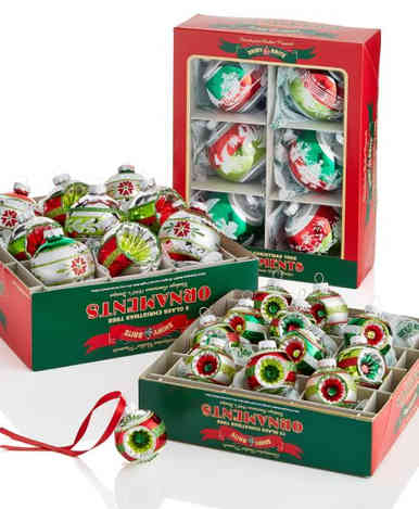 Classic Shiny Bright Christmas Ornaments