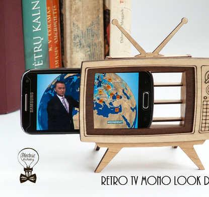 Retro TV Frame for Phone