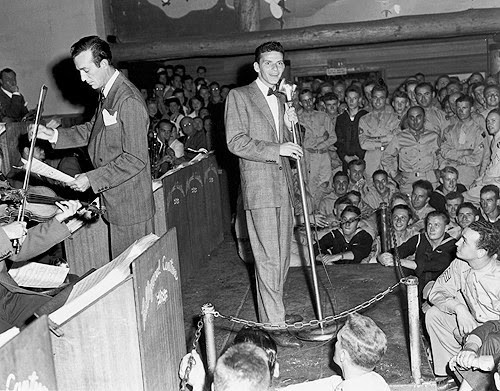Frank Sinatra Hollywood Canteen