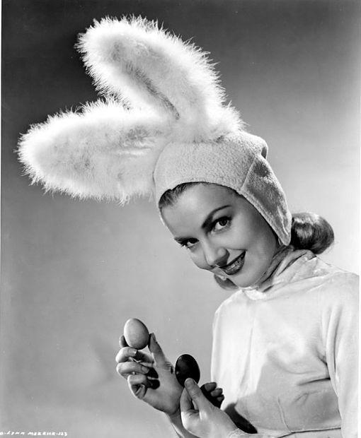 Lynn Merrick as Easter Bunny from A Certain Cinema