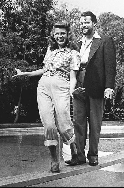 Rita Hayworth & Orson Wells