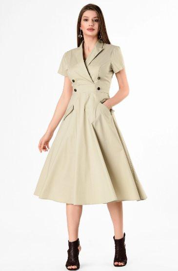 50s Style Coat Dress