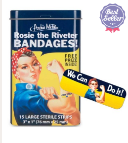 1940s Style Rosie Riveter Bandages