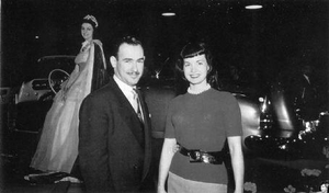 Richard Arbib and Bettie Page