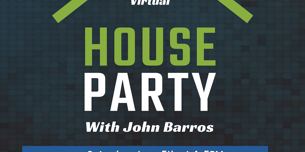 Virtual House Party With John Barros Hosted By Shradha Patel
