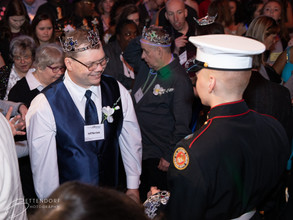 Special Needs event with Marines