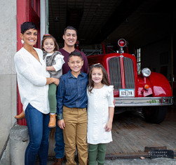 Family Pictures Fire Station