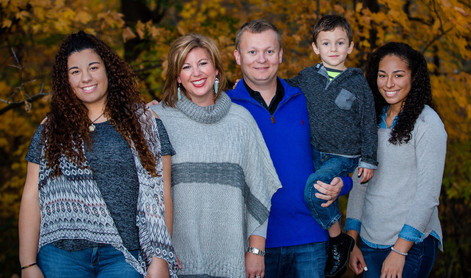 Ryder family portraits in Bettendorf