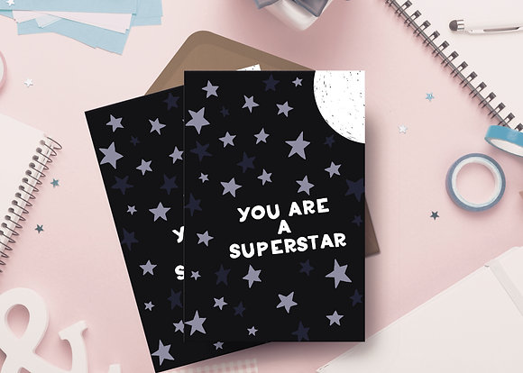 You Are A Superstar Card