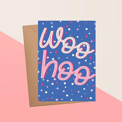 Woohoo Congratulations Greetings Card