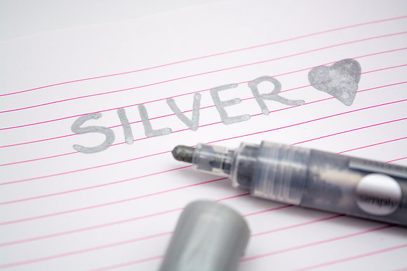 DALER ROWNEY Acrylic Paint Pen - Silver