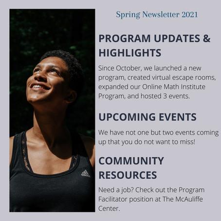 Spring Newsletter 2021