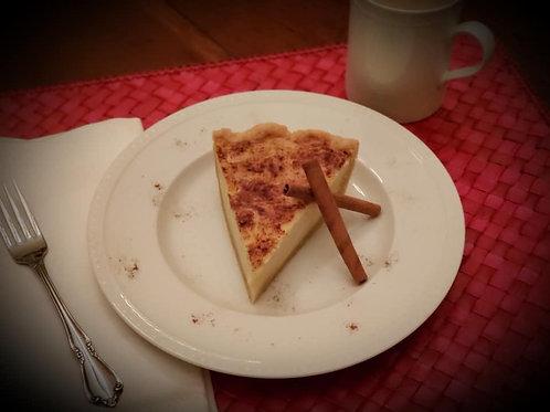 Sugar Cream Pie (Hoosier Pie)