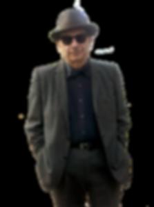 Loren niemi in dark glasses and hat