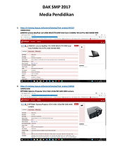 menyediakan paket lengkap dak sd 2015