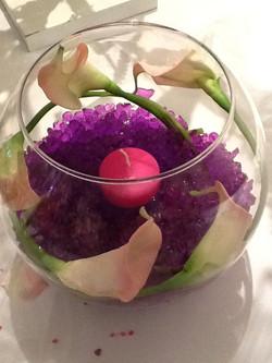fish bowl arrangement