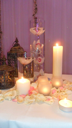 finishing touches (candles)