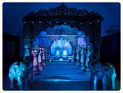 the jodha mandap (lighting)