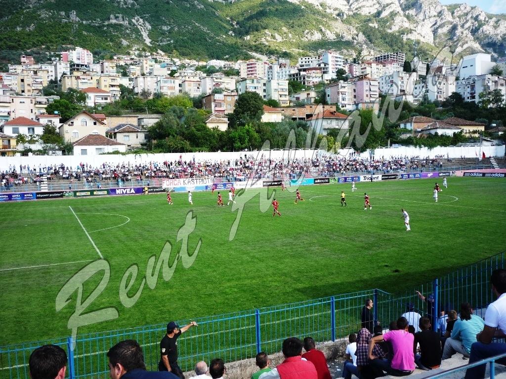 Матч местного футбольного клуба