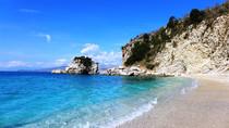 """Пляж """"Зеркал"""" - Pasqyrat Beach (Саранда, Албания)"""