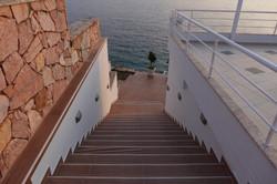 Лестница на пляж