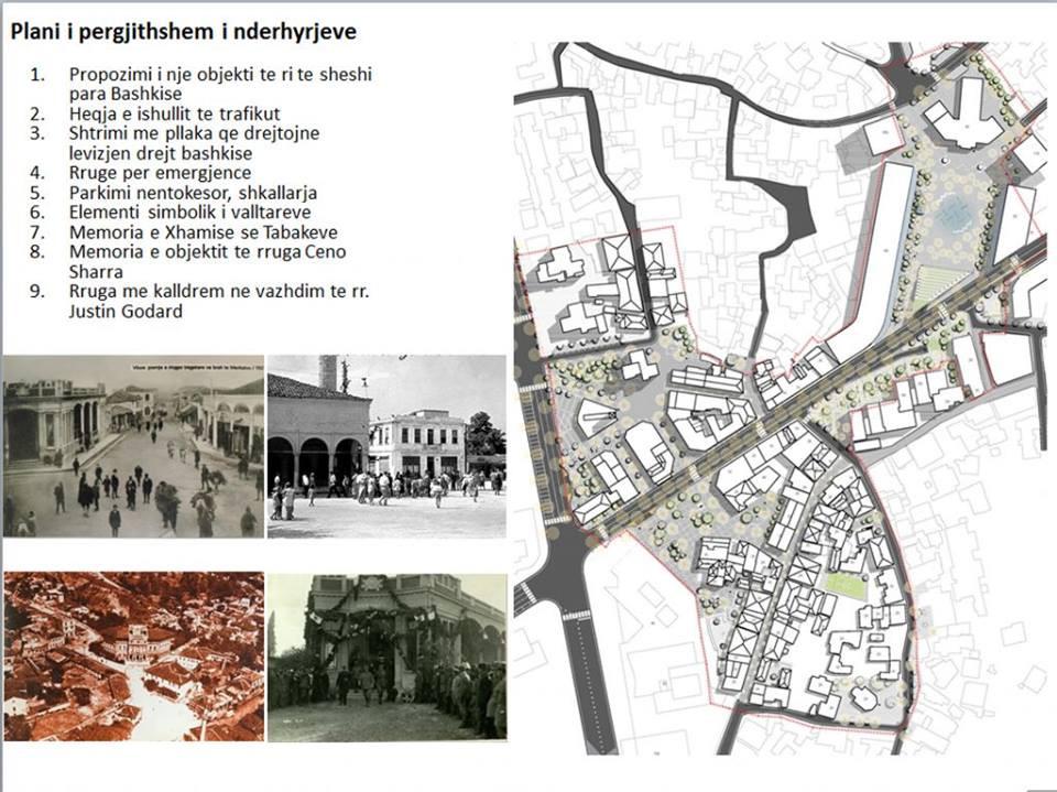 реконструкции исторической (старой) части Влёры