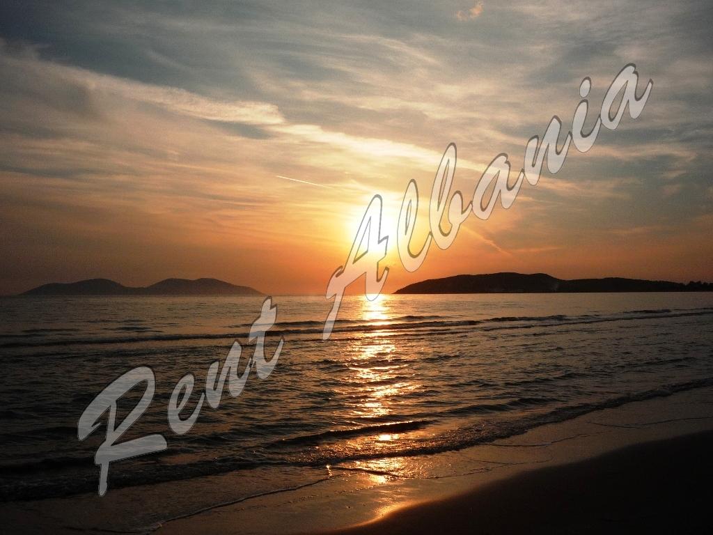 Пляж Нарта. Закат