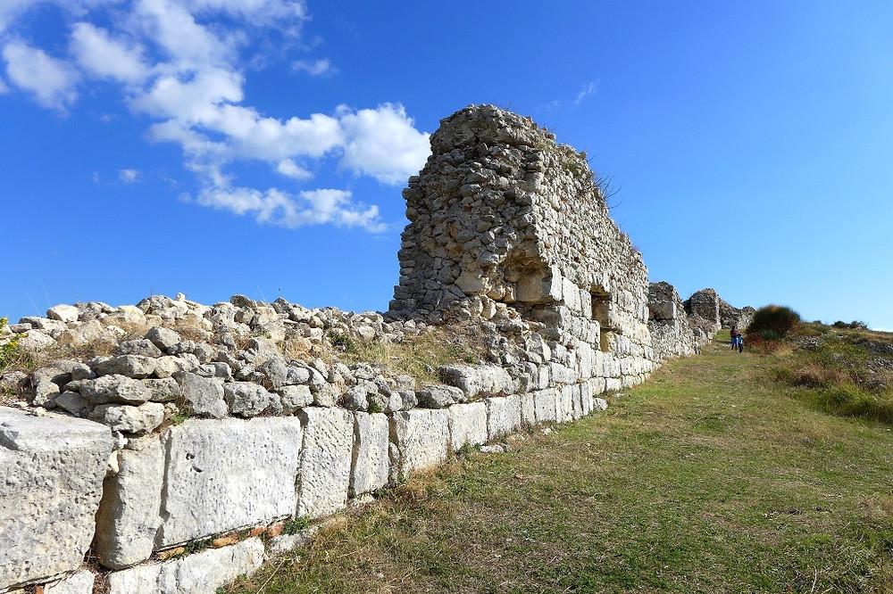 Стена Викториния (археологический парк Bylis)