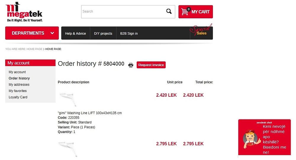 Покупки через интернет в магазинах Албании