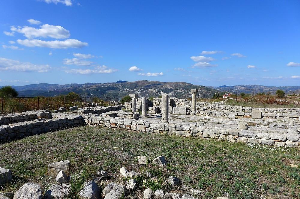 "Базилика ""A"" (археологический парк Bylis)"