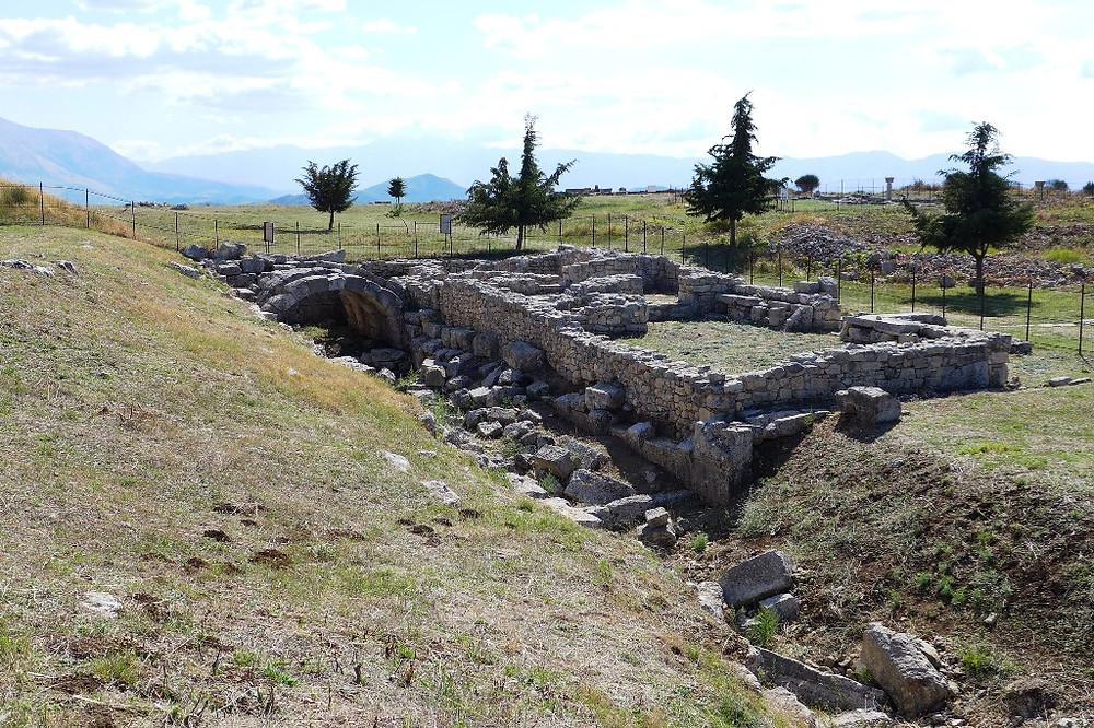 Бани Юстиниана I (археологический парк Bylis)