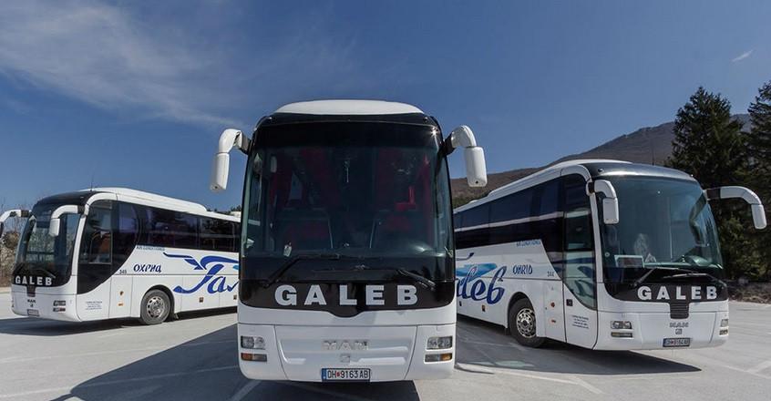 Автобусы (Македония - Албания)