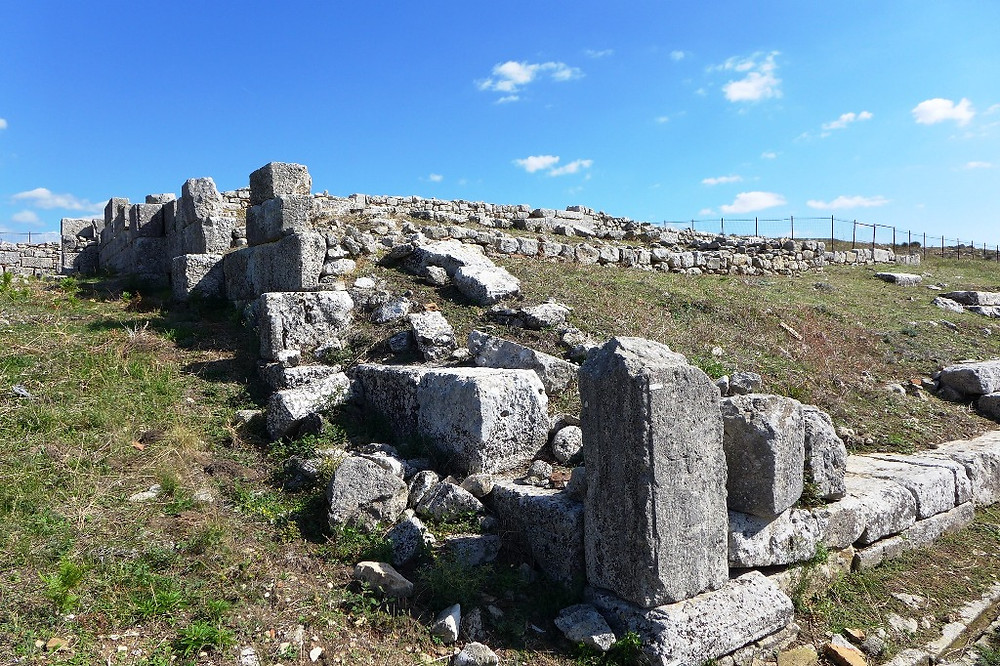 Базилика А (археологический парк Bylis)