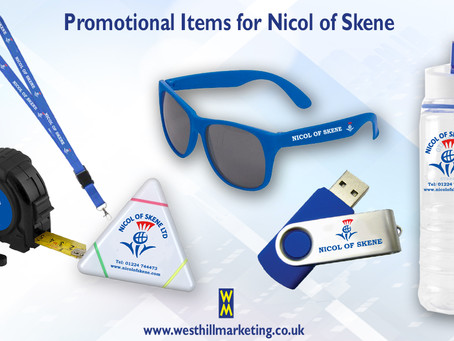 Promotional items for Nicol Of Skene